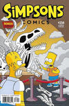 Cover for Simpsons Comics (Bongo, 1993 series) #234