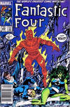 Cover for Fantastic Four (Marvel, 1961 series) #289 [Newsstand Edition]