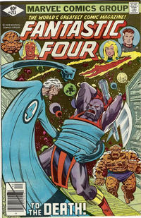 Cover Thumbnail for Fantastic Four (Marvel, 1961 series) #213 [Direct Edition]