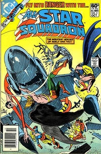 Cover Thumbnail for All-Star Squadron (DC, 1981 series) #2 [Newsstand]