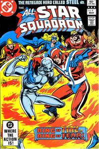 Cover Thumbnail for All-Star Squadron (DC, 1981 series) #9 [Direct Sales]