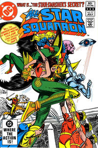 Cover Thumbnail for All-Star Squadron (DC, 1981 series) #11 [Direct]