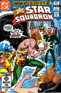 Cover for All-Star Squadron (DC, 1981 series) #12 [Direct Sales]