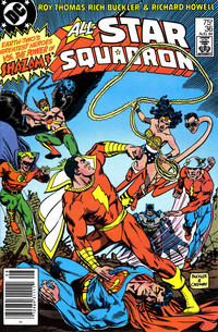 Cover Thumbnail for All-Star Squadron (DC, 1981 series) #36 [Newsstand]