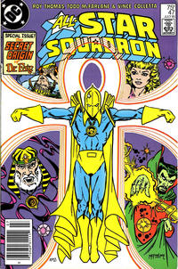 Cover Thumbnail for All-Star Squadron (DC, 1981 series) #47 [Newsstand]
