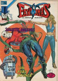 Cover Thumbnail for Fantomas (Editorial Novaro, 1969 series) #443