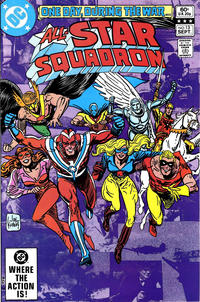 Cover Thumbnail for All-Star Squadron (DC, 1981 series) #13 [Direct]