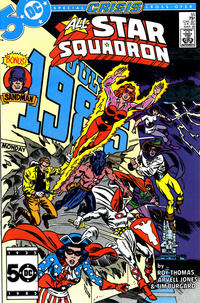 Cover Thumbnail for All-Star Squadron (DC, 1981 series) #55 [Direct Sales]