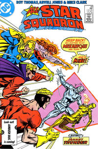 Cover Thumbnail for All-Star Squadron (DC, 1981 series) #58 [Direct Sales]
