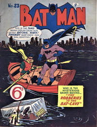 Cover Thumbnail for Batman (K. G. Murray, 1950 series) #23