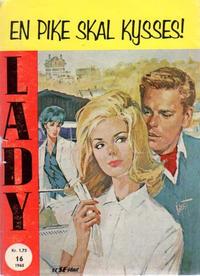 Cover Thumbnail for Lady (Serieforlaget / Se-Bladene / Stabenfeldt, 1964 series) #16/1965