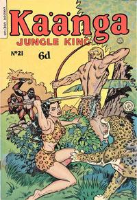 Cover Thumbnail for Kaänga Comics (H. John Edwards, 1950 ? series) #21