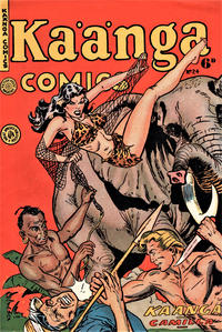 Cover Thumbnail for Kaänga Comics (H. John Edwards, 1950 ? series) #24