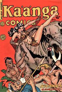 Cover Thumbnail for Kaänga Comics (H. John Edwards, 1950 ? series) #24