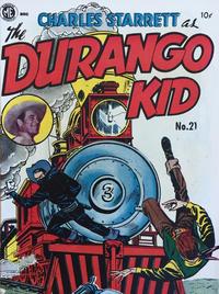 Cover Thumbnail for Durango Kid (Compix, 1952 series) #21