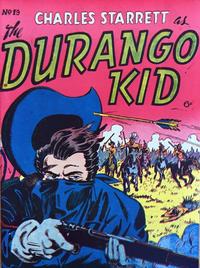 Cover Thumbnail for Durango Kid (Compix, 1952 series) #19