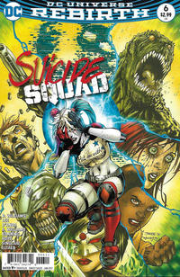 Cover Thumbnail for Suicide Squad (DC, 2016 series) #6 [Jim Lee / Scott Williams Cover]