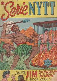 Cover Thumbnail for Serie-nytt [Serienytt] (Formatic, 1957 series) #5/1957