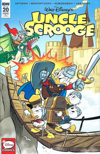 Cover Thumbnail for Uncle Scrooge (IDW, 2015 series) #20 / 424 [Retailer Incentive Variant Cover]