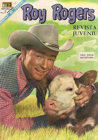 Cover Thumbnail for Roy Rogers (Editorial Novaro, 1952 series) #187