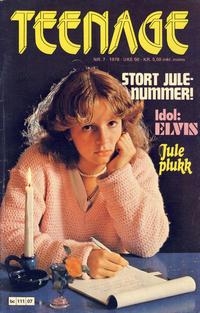 Cover Thumbnail for Teenage (Semic, 1977 series) #7/1978