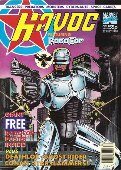 Cover for Havoc (Marvel UK, 1991 series) #3