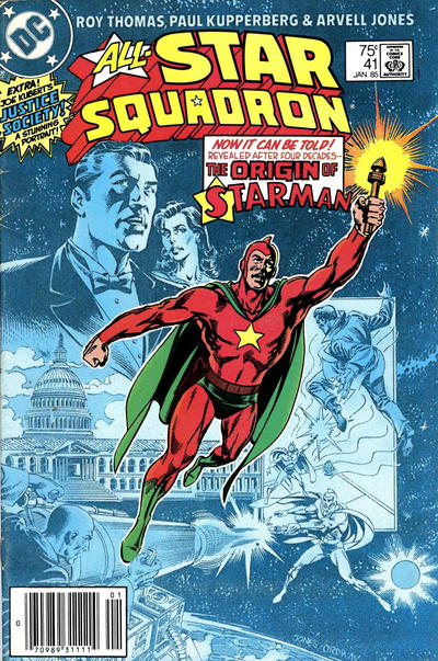 Cover for All-Star Squadron (DC, 1981 series) #41 [Direct-Sales Variant]