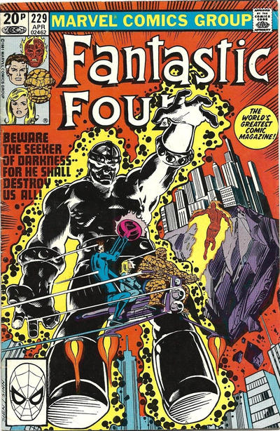 Cover for Fantastic Four (Marvel, 1961 series) #229 [Newsstand Edition]