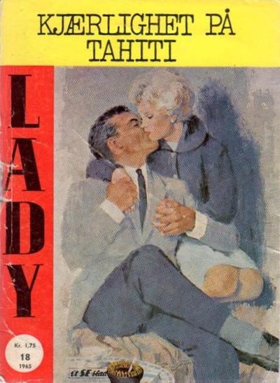 Cover for Lady (Serieforlaget / Se-Bladene / Stabenfeldt, 1964 series) #18/1965