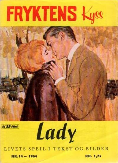 Cover for Lady (Serieforlaget / Se-Bladene / Stabenfeldt, 1964 series) #14/1964