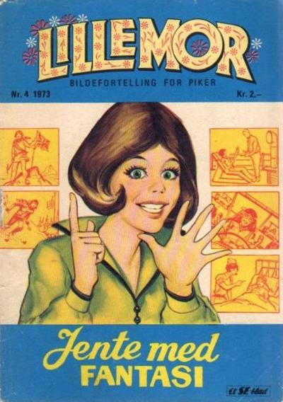 Cover for Lillemor (Serieforlaget / Se-Bladene / Stabenfeldt, 1969 series) #4/1973