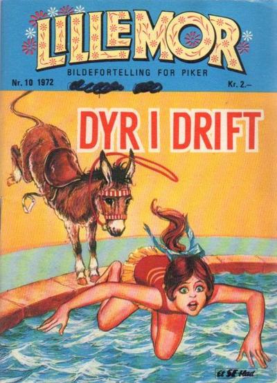 Cover for Lillemor (Serieforlaget / Se-Bladene / Stabenfeldt, 1969 series) #10/1972