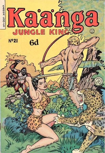 Cover for Kaänga Comics (H. John Edwards, 1950 ? series) #21