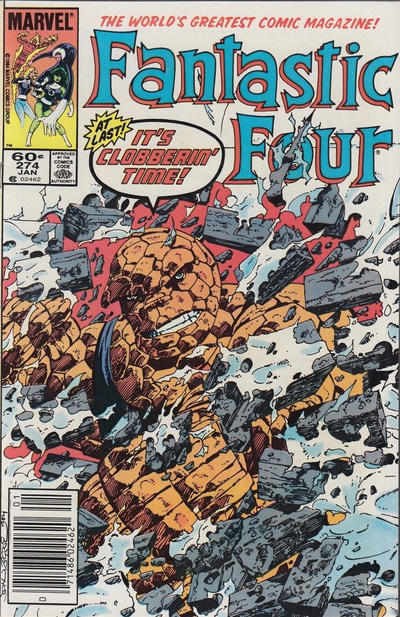 Cover for Fantastic Four (Marvel, 1961 series) #274 [Direct Edition]