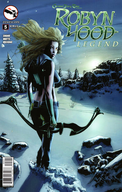 Cover for Grimm Fairy Tales Presents Robyn Hood: Legend (Zenescope Entertainment, 2014 series) #5