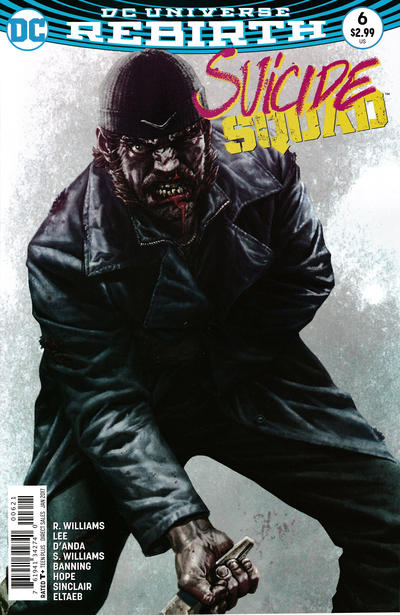 Cover for Suicide Squad (DC, 2016 series) #6 [Newsstand]