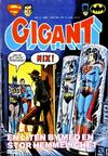Cover for Gigant (Semic, 1977 series) #3/1981