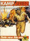 Cover for Kamp-serien (Serieforlaget / Se-Bladene / Stabenfeldt, 1964 series) #38/1986