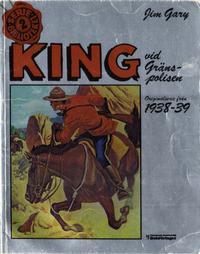 Cover Thumbnail for Seriebiblioteket (Hemmets Journal, 1976 series) #2 - King vid gränspolisen