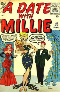 Cover Thumbnail for A Date with Millie (Marvel, 1956 series) #1