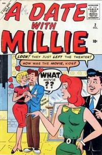 Cover Thumbnail for A Date with Millie (Marvel, 1959 series) #2