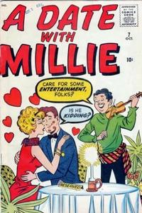 Cover Thumbnail for A Date with Millie (Marvel, 1959 series) #7