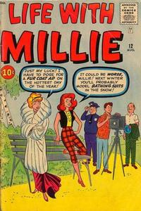 Cover Thumbnail for Life with Millie (Marvel, 1960 series) #12