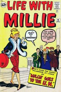Cover Thumbnail for Life with Millie (Marvel, 1960 series) #16