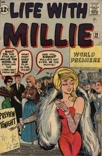 Cover Thumbnail for Life with Millie (Marvel, 1960 series) #20