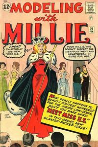 Cover Thumbnail for Modeling with Millie (Marvel, 1963 series) #21