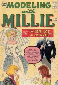 Cover Thumbnail for Modeling with Millie (Marvel, 1963 series) #22