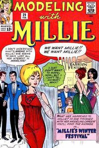 Cover Thumbnail for Modeling with Millie (Marvel, 1963 series) #29