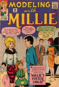 Cover Thumbnail for Modeling with Millie (Marvel, 1963 series) #30