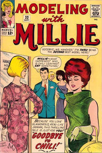 Cover Thumbnail for Modeling with Millie (Marvel, 1963 series) #33